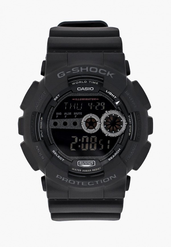 мужские часы casio, черные