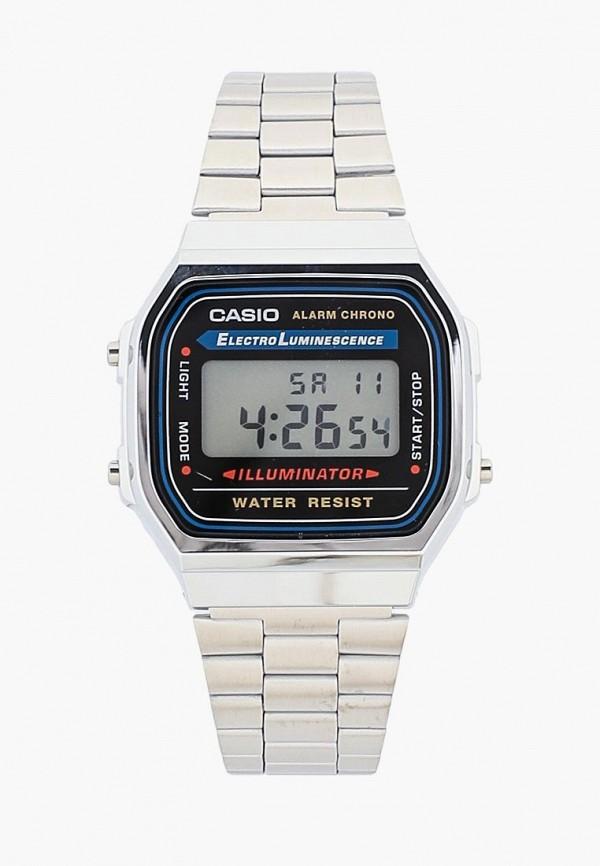 Купить Часы Casio, Casio Collection A-168WA-1, ca077dugxy00, серебряный, Весна-лето 2019