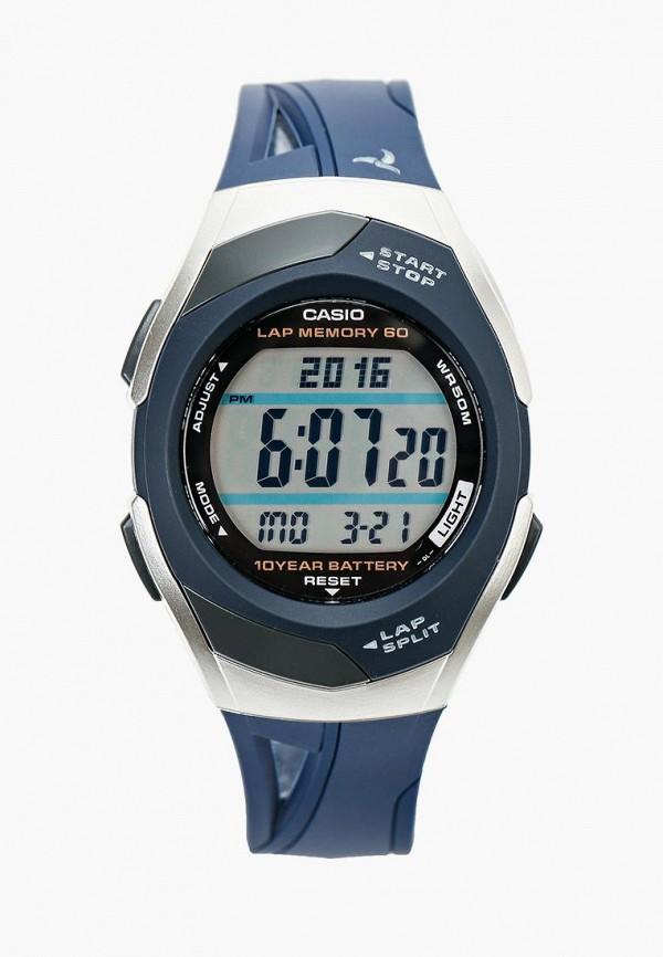 Купить Часы Casio, Casio Sport STR-300C-2, ca077duinx70, синий, Осень-зима 2018/2019