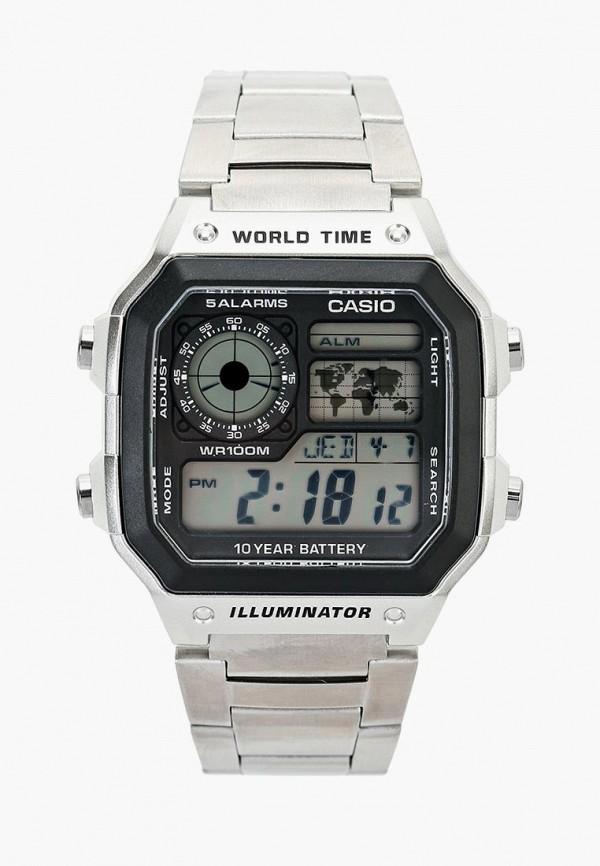 Купить Часы Casio, Casio Collection AE-1200WHD-1A, ca077duinx77, серебряный, Весна-лето 2019