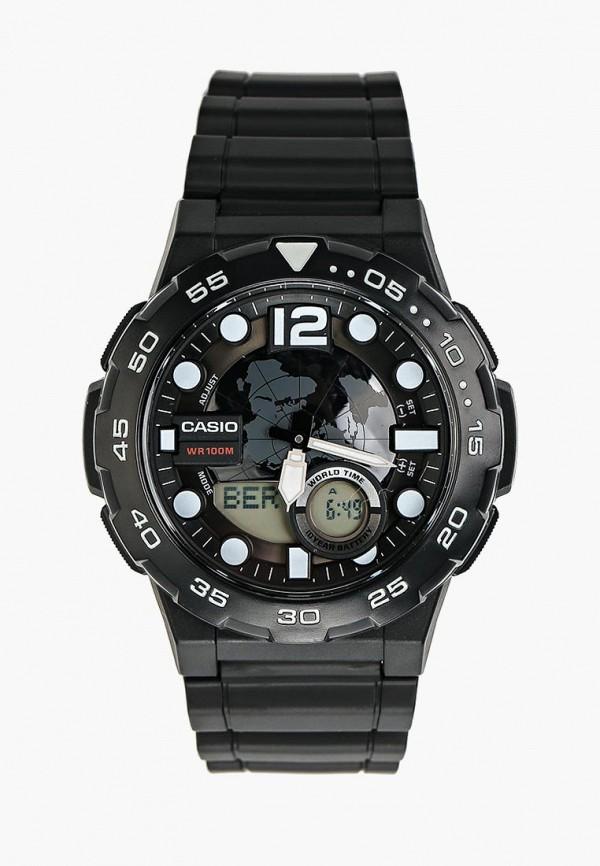 Купить Часы Casio, Casio Collection AEQ-100W-1A, ca077duinx80, черный, Осень-зима 2018/2019