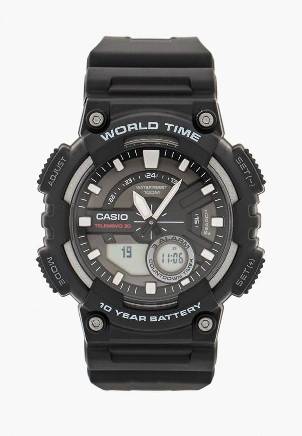 Купить Часы Casio, Casio Collection AEQ-110W-1A, ca077duinx81, черный, Осень-зима 2018/2019
