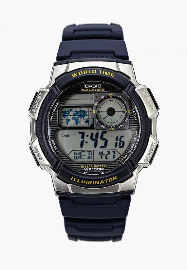 Купить Часы Casio, Casio Collection AE-1000W-2A, ca077duiyy20, синий, Осень-зима 2018/2019
