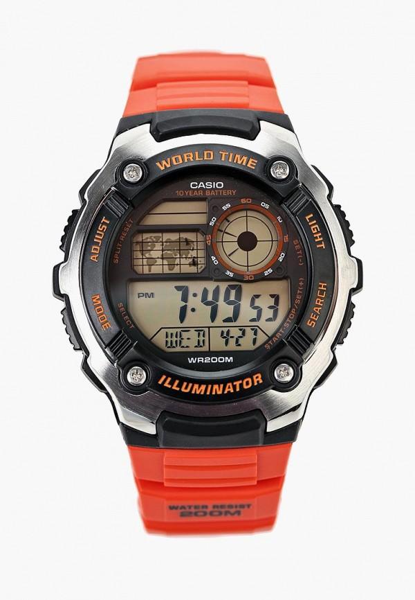 Купить Часы Casio, Casio Collection AE-2100W-4A, ca077duiyy22, красный, Осень-зима 2018/2019