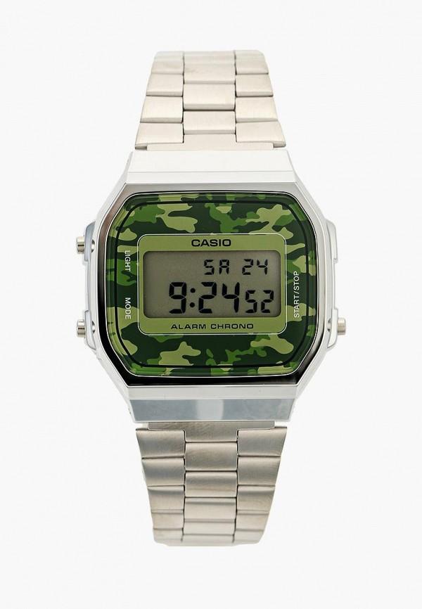 Купить Часы Casio, Casio Collection A-168WEC-3E, ca077dujej91, серебряный, Осень-зима 2018/2019
