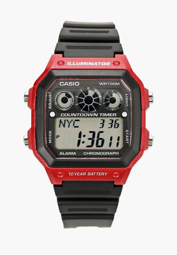 Купить Часы Casio, Casio Collection AE-1300WH-4A, ca077dujej95, черный, Осень-зима 2018/2019