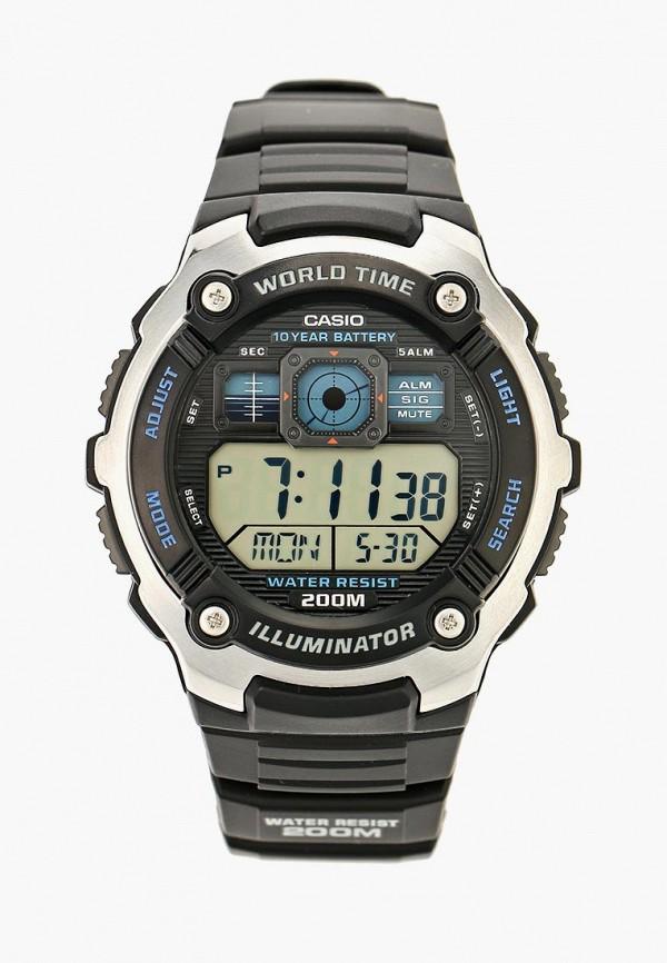 Купить Часы Casio, Casio Collection AE-2000W-1A, ca077dujej96, черный, Осень-зима 2018/2019