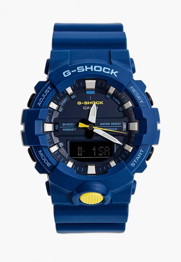 женские часы casio, синие