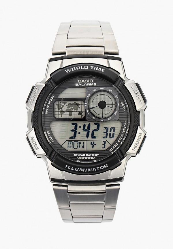 Купить Часы Casio, CASIO Collection AE-1000WD-1A, ca077dusms70, серебряный, Осень-зима 2018/2019