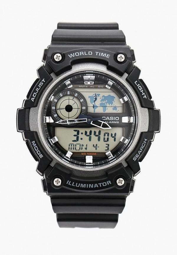 Купить Часы Casio, CASIO Collection AEQ-200W-1A, CA077DUSMS75, черный, Осень-зима 2018/2019