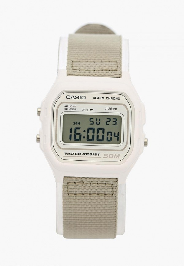 Купить Часы Casio, CASIO Collection W-59B-7A, ca077duxem34, белый, Осень-зима 2018/2019