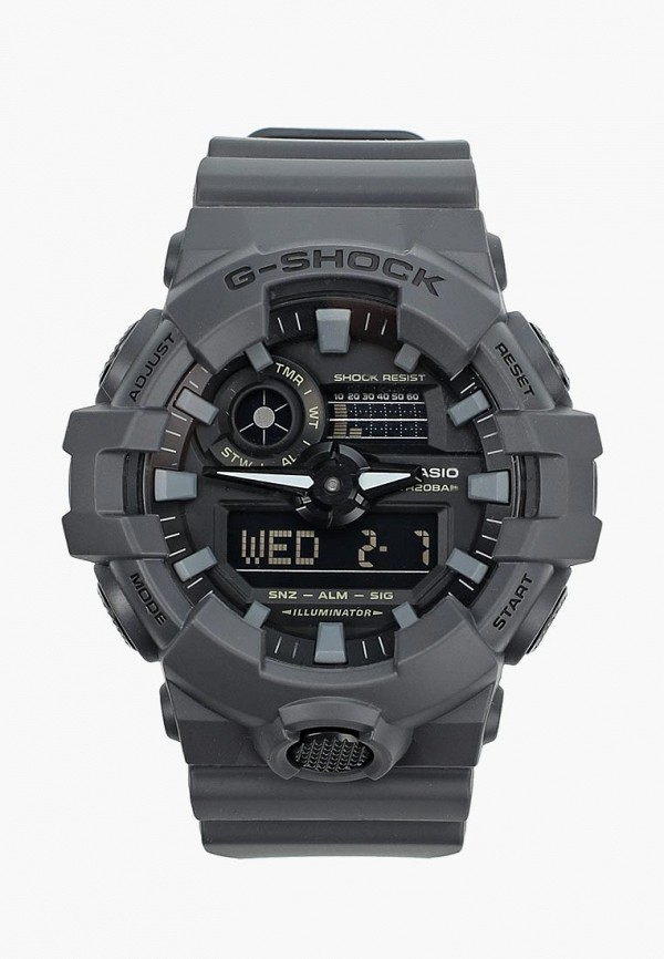 Часы Casio Casio CA077DUYUG62 часы наручные casio часы casio la670wea 7e