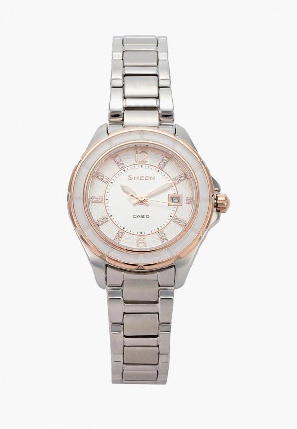 Купить Часы Casio, CASIO SHEEN SHE-4045SG-7A, CA077DWACFL9, серебряный, Весна-лето 2018