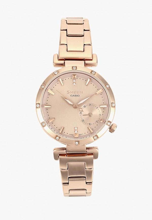 Купить Часы Casio, CASIO SHEEN SHE-4051PG-4A, ca077dwcfxw8, золотой, Осень-зима 2018/2019
