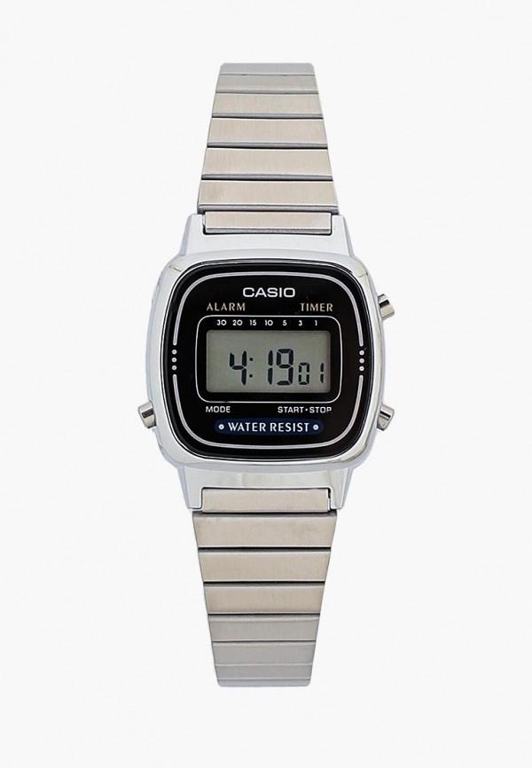 Купить Часы Casio, Casio Collection LA670WEA-1E, ca077dwgxy03, серебряный, Осень-зима 2018/2019