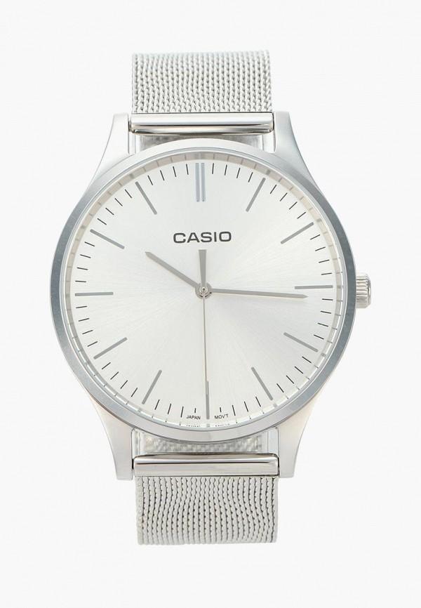 Купить Часы Casio, CASIO Collection LTP-E140D-7A, CA077DWXEM30, серебряный, Осень-зима 2018/2019