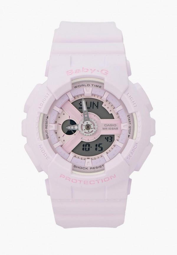 Купить Часы Casio, Casio Baby-G BA-110-4A2, ca077dwyea34, фиолетовый, Весна-лето 2019