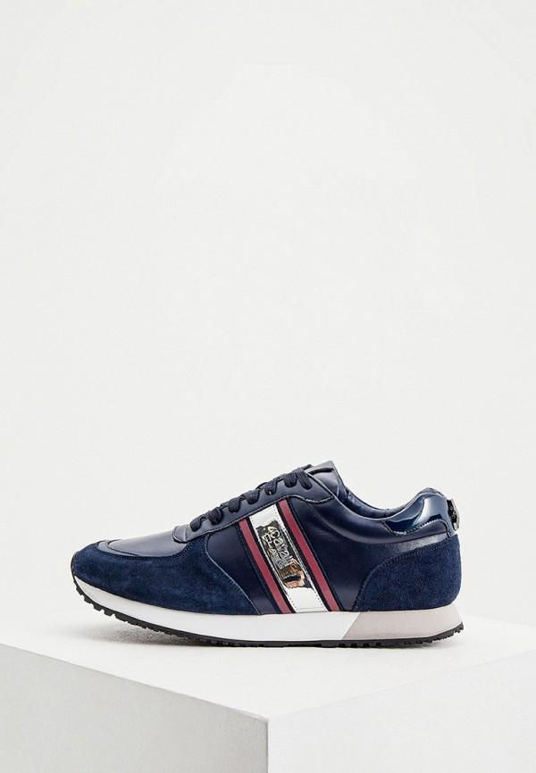 мужские кроссовки cavalli class, синие
