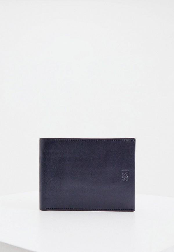 мужской кошелёк cavalli class, синий