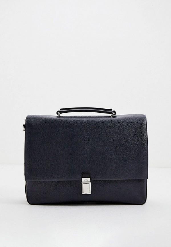 мужской портфель cavalli class, синий