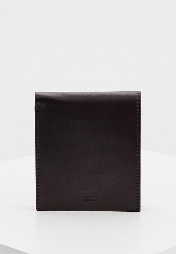 мужской кошелёк cavalli class, коричневый