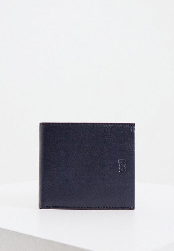 мужское портмоне cavalli class, синее