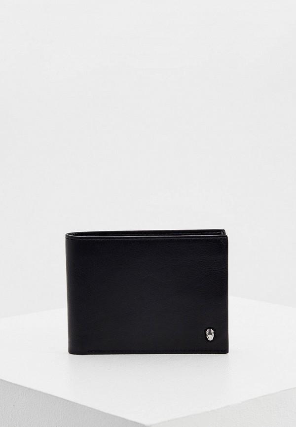 мужской кошелёк cavalli class, черный