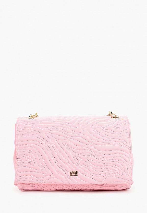 Сумка через плечо  розовый цвета