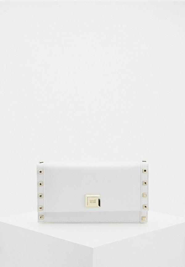 женская сумка cavalli class, белая