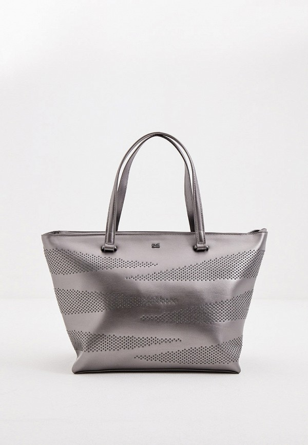 женская сумка cavalli class, серая