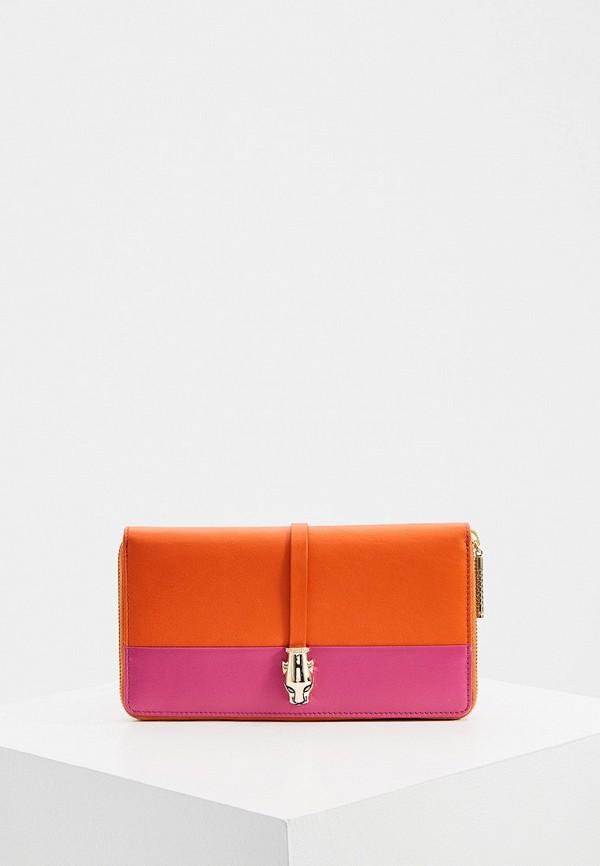женский кошелёк cavalli class, разноцветный