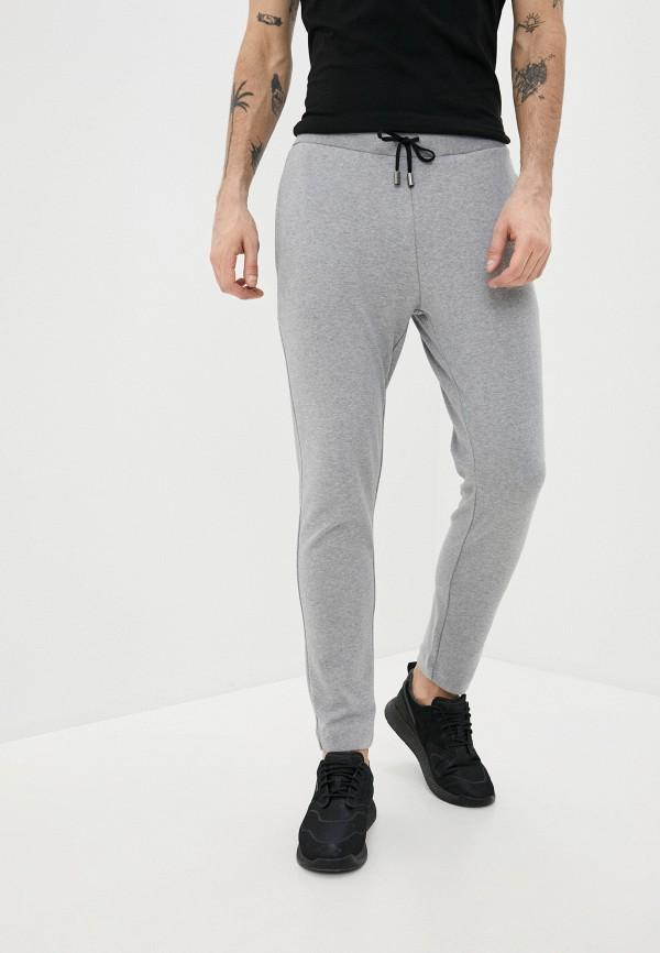 мужские спортивные брюки cavalli class, серые