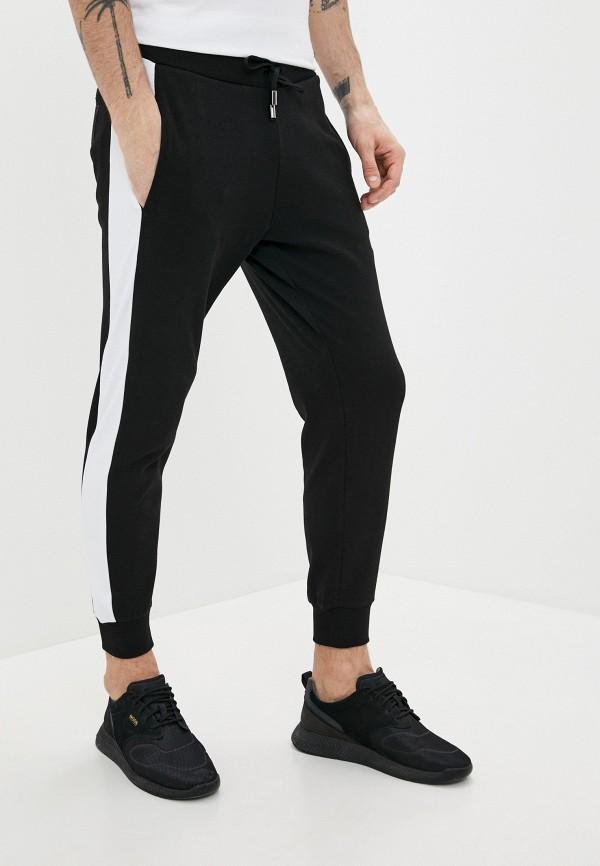 мужские спортивные брюки cavalli class, черные