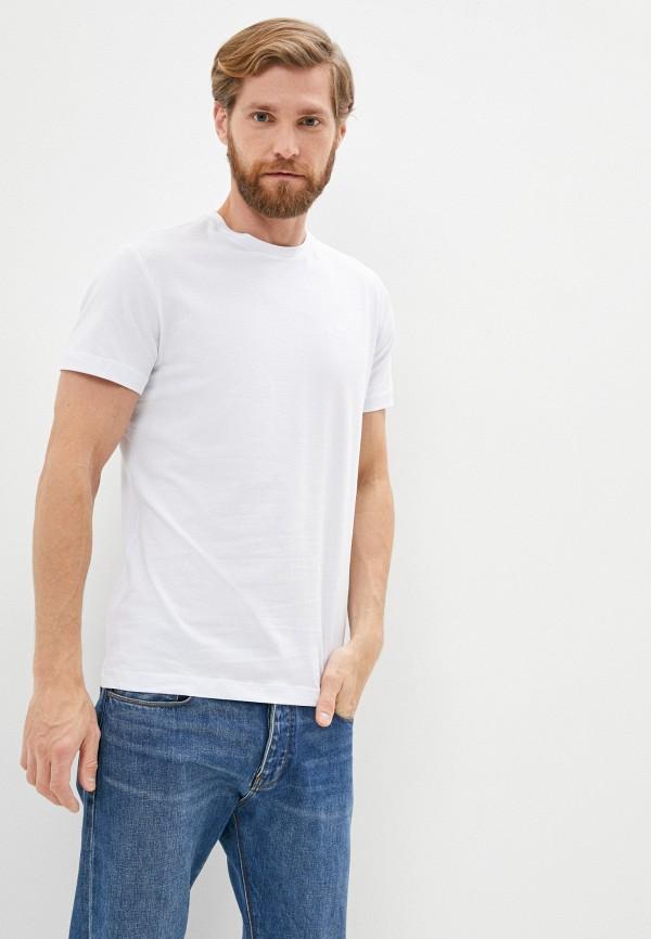 мужская футболка cavalli class, белая