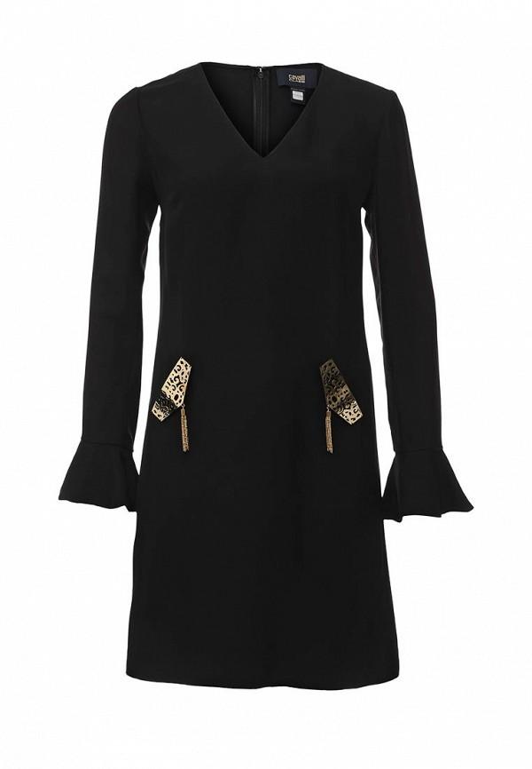 мужское повседневные платье cavalli class, черное