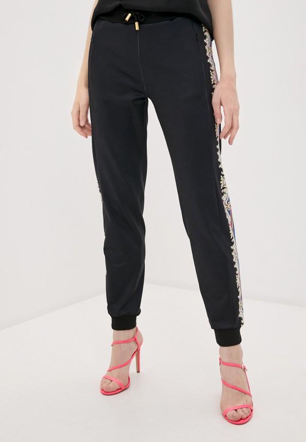 женские брюки cavalli class, черные