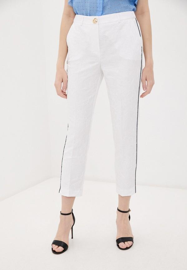 женские повседневные брюки cavalli class, белые