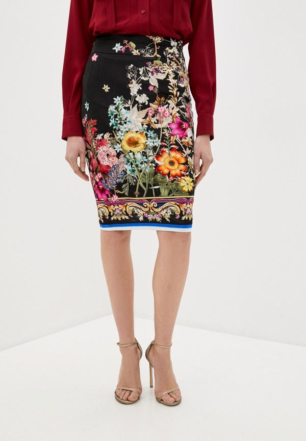 женская зауженные юбка cavalli class, разноцветная