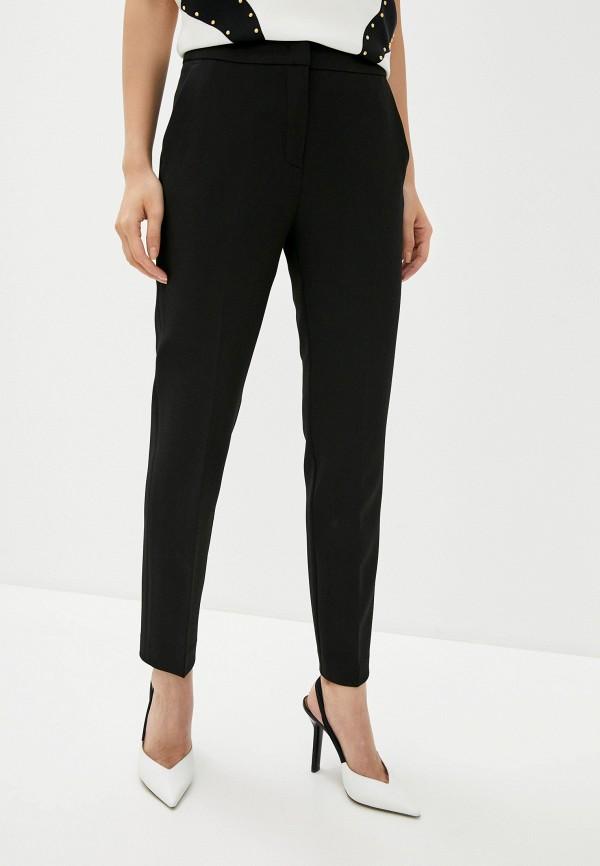 женские повседневные брюки cavalli class, черные