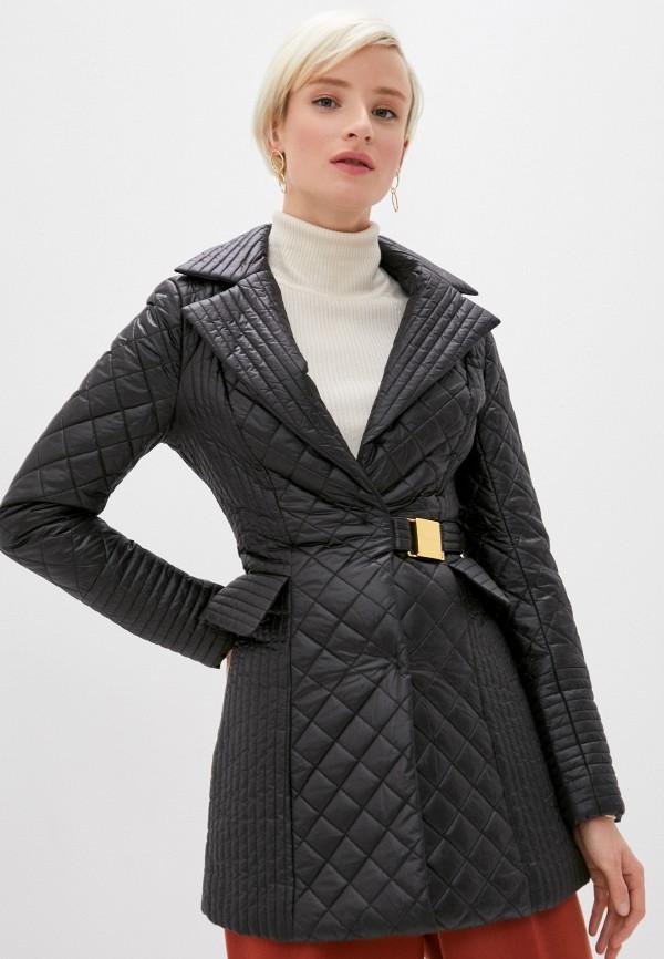 женская куртка cavalli class, черная