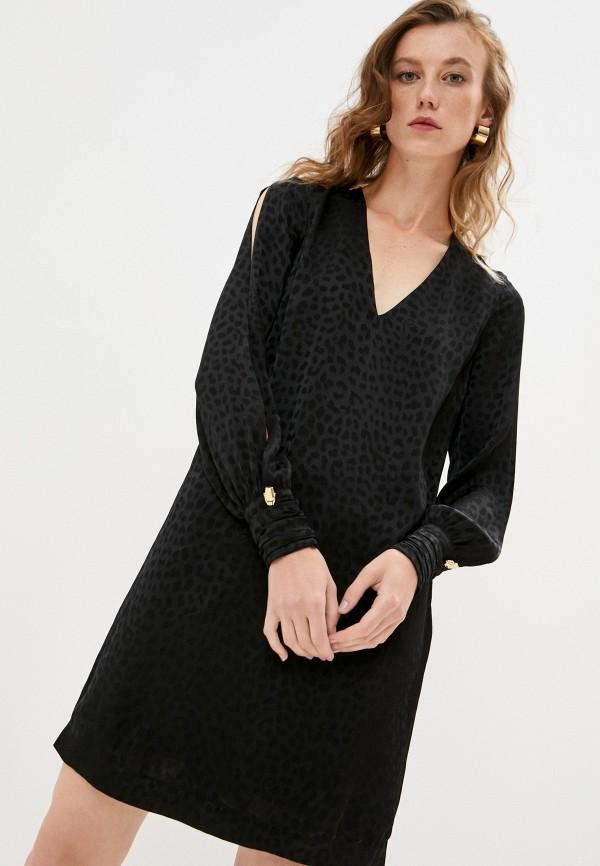 Платье Cavalli Class черного цвета