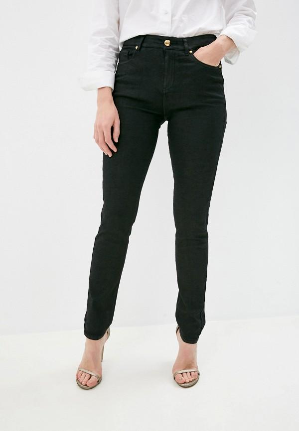 женские джинсы cavalli class, черные