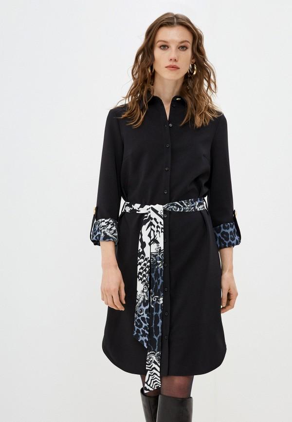 женское платье cavalli class, черное