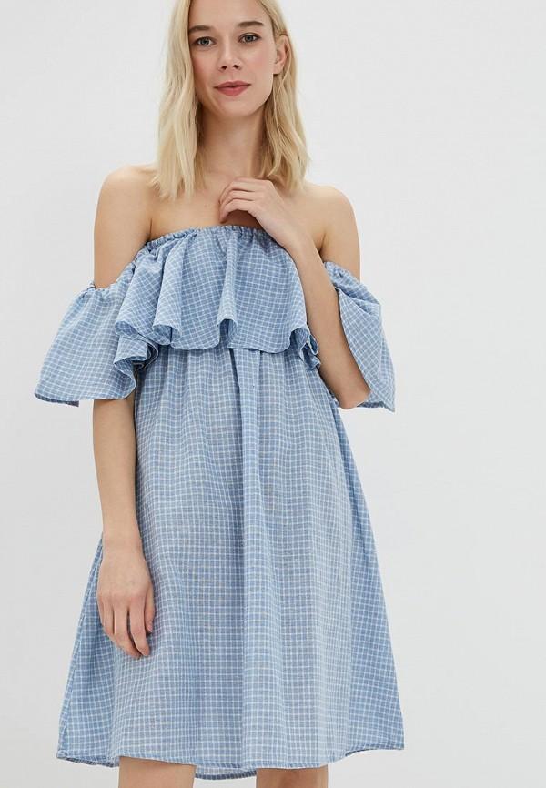 Купить Платье Care of You, CA084EWBNIX7, голубой, Осень-зима 2018/2019