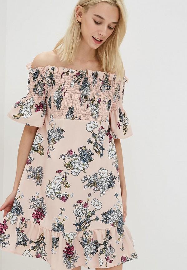 Купить Платье Care of You, CA084EWBNIY9, розовый, Осень-зима 2018/2019