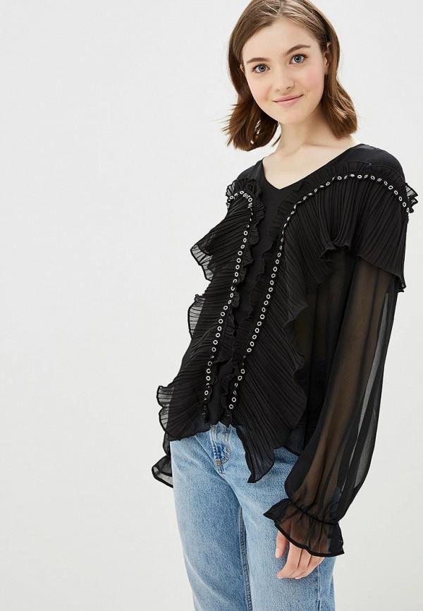 женская блузка care of you, черная