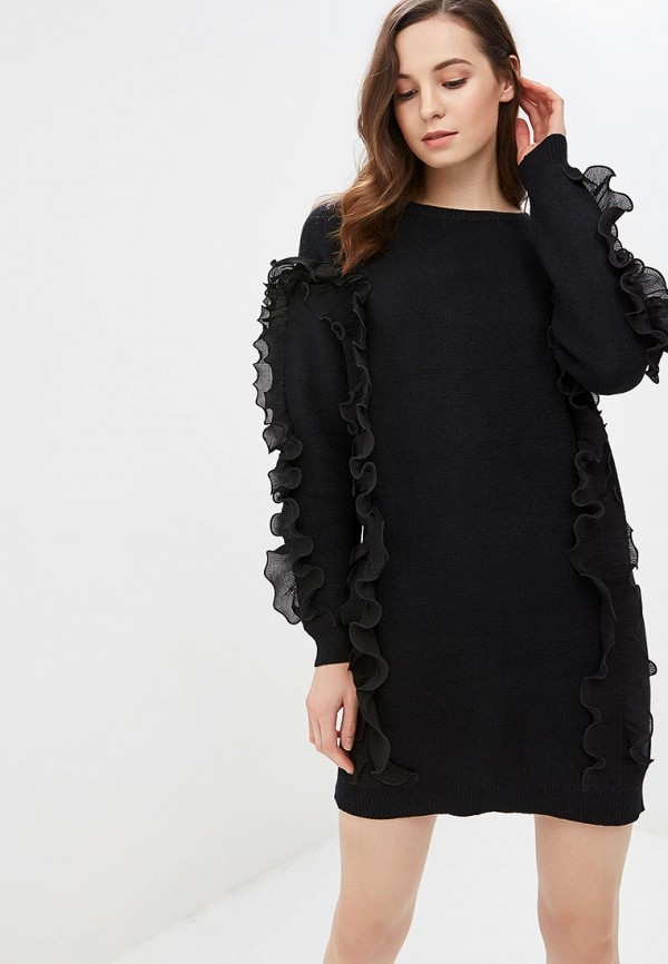 женское платье care of you, черное