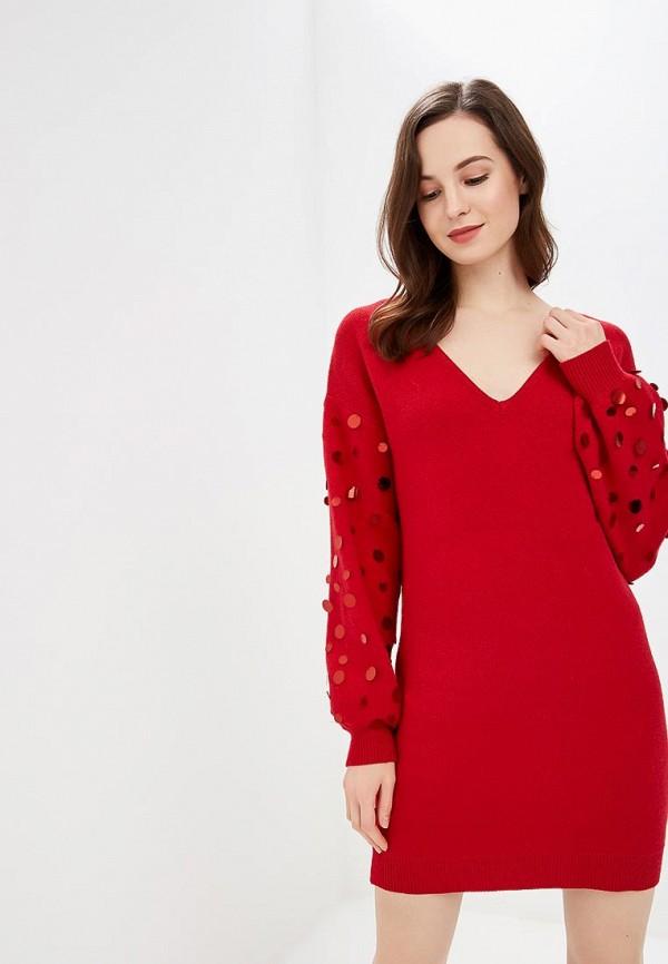 женское платье care of you, красное