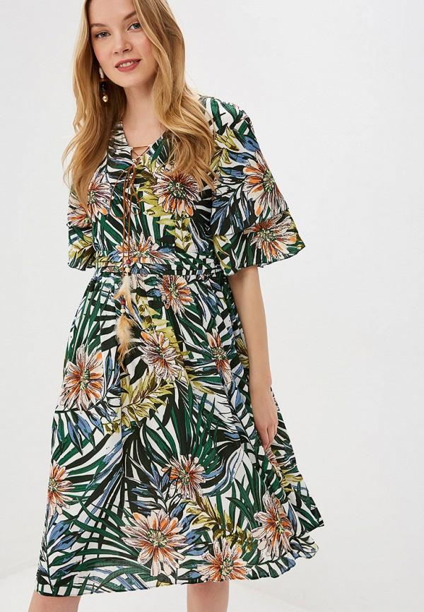 женское повседневные платье care of you, зеленое