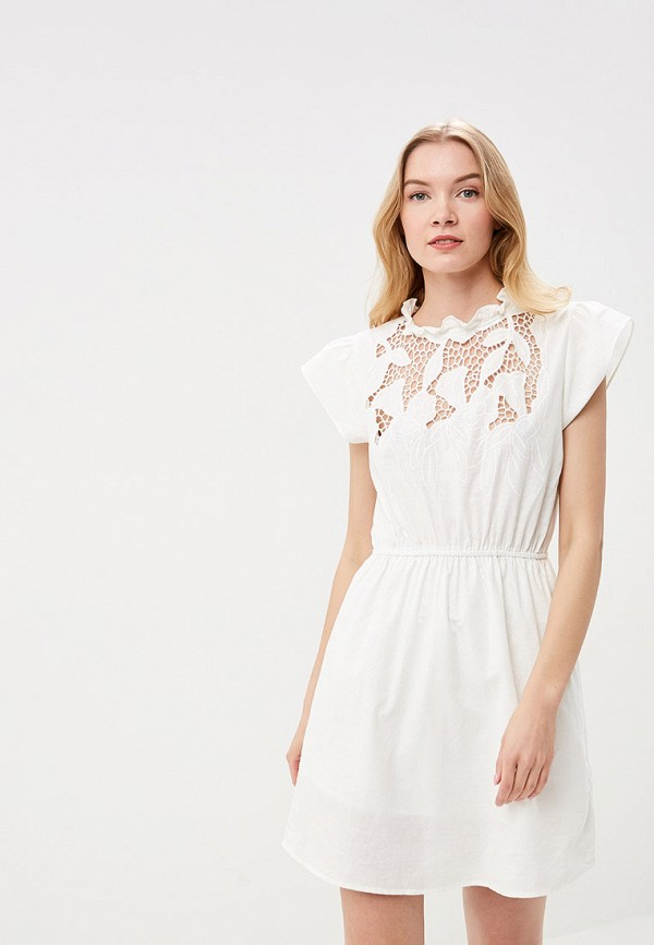 женское повседневные платье care of you, белое